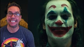 Joaquin Phoenix Joker Make Up. Thoughts...