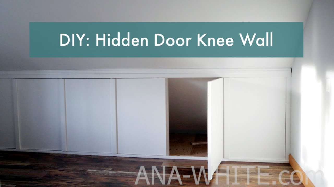 Knee Walls With Hidden Doors