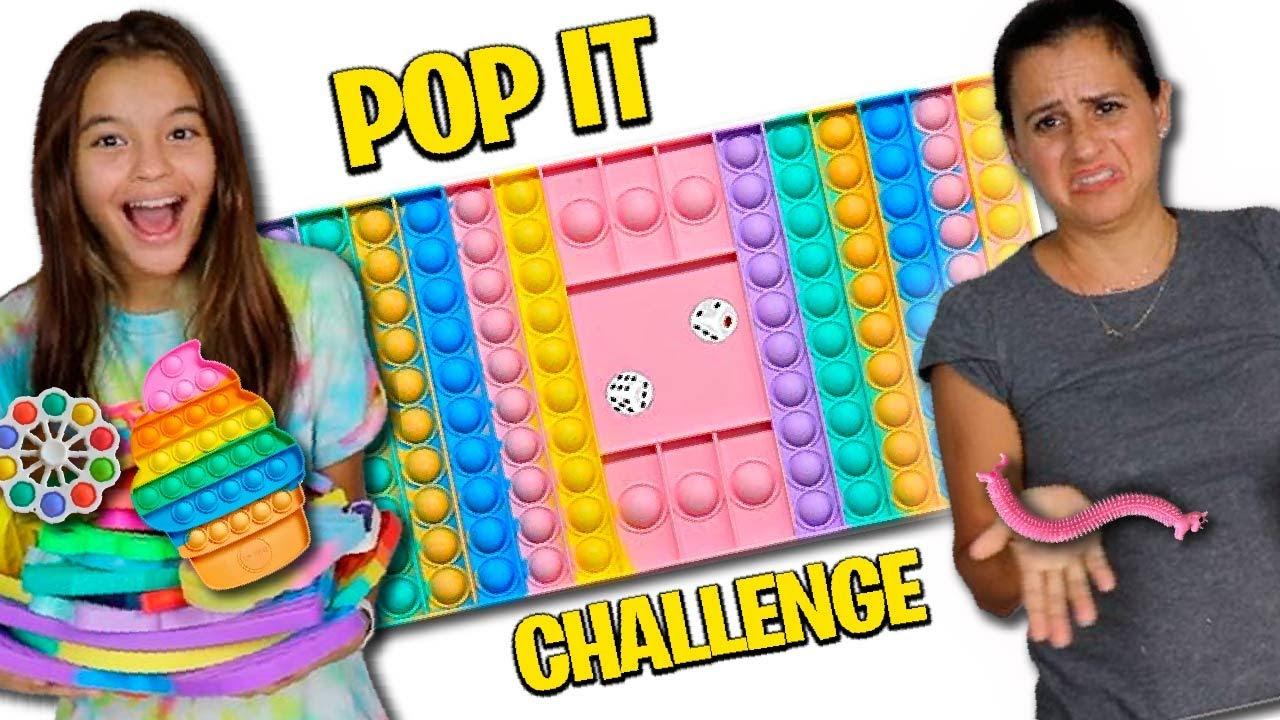 POP IT CHALLENGE | TROCANDO FIDGET TOYS!|