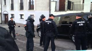 Bratislava 20 06 2015 Pochod proti islamizacii Zajatci na Beblaveho