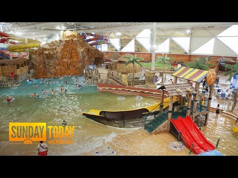 Inside The Family-Run Kalahari Resorts, The Nation's Largest Indoor Water Parks | Sunday TODAY