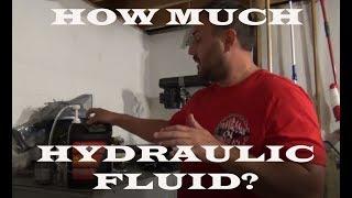 Hydraulic Fluid How Much To Add Lowrider Hydraulics