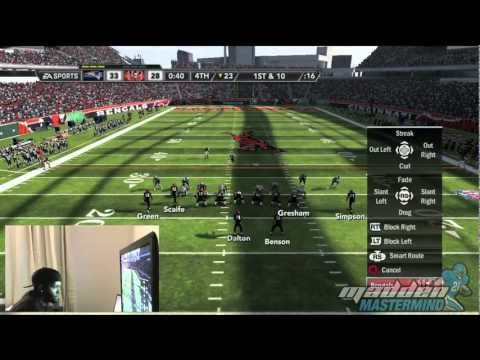MUST WATCH!! Greatest Madden 12 Game Ever? [HD 1080p Gameplay + Live Commentary Cam]