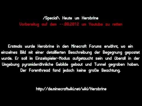 Minecraft Wiki Herobrine