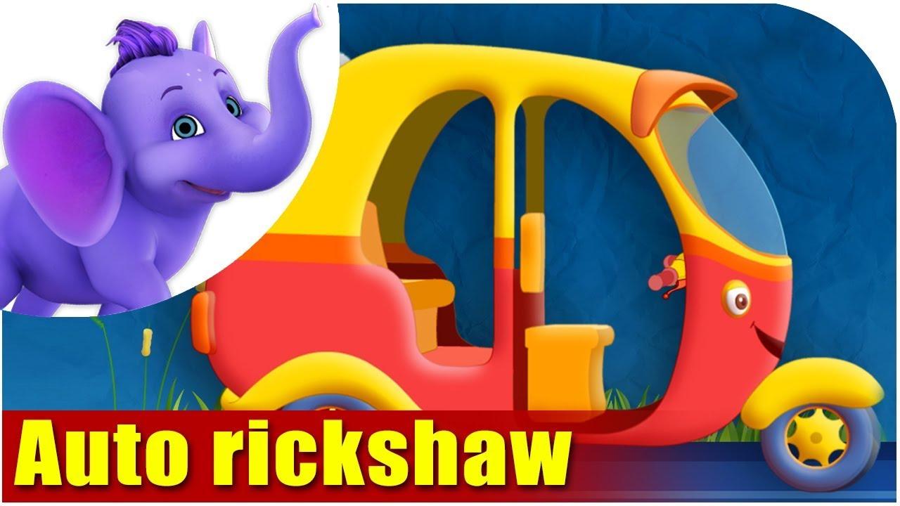 Download Auto rickshaw - Vehicle Rhyme