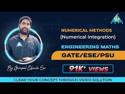 Numerical Methods (Numerical Integration) | Engineering Mathematics