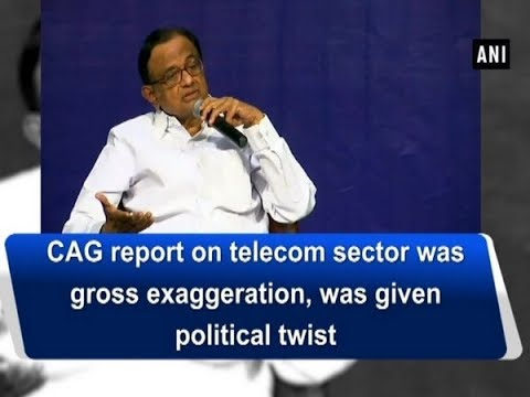 CAG report on telecom sector was gross exaggeration, was given political twist - Karnataka News