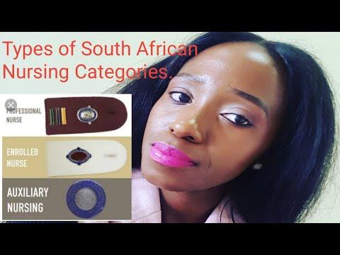 Nursing Categories  South African Nurse YouTuber