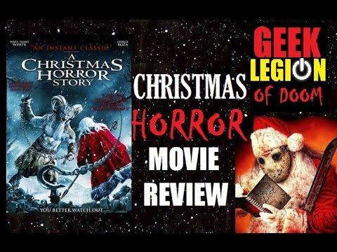 A Christmas Horror Story 2015.A Christmas Horror Story 2015 William Shatner Horror Movie Review