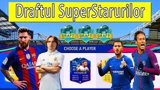 Draftul SuperStarurilor - Messi,Neymar,Modric,Hazard si Compania De Neoprit - FIFA 19 FUT DRAFT !!!