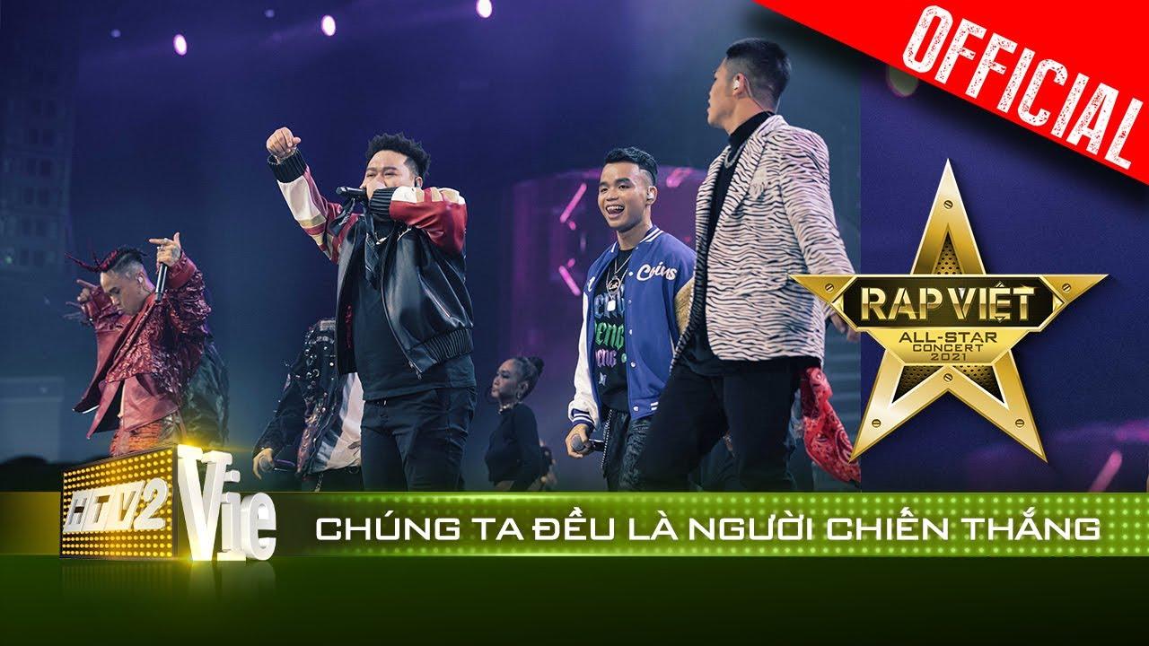 Live concert: Chúng Ta Đều Là Người Chiến Thắng - Bộ 6 Cypher   Rap Việt All-Star 2021