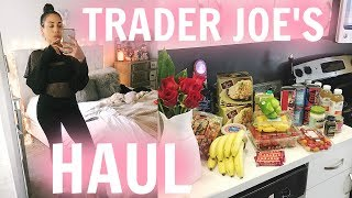 Trader Joe's Haul + Healthy Popeyes Red Beans & Rice Recipe