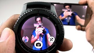 Control Your Smartphone Camera with Gear S3  - BEST APP!