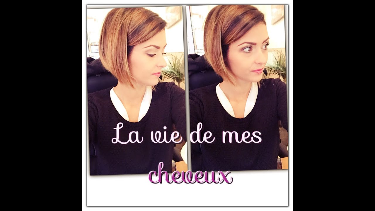 La vie de mes cheveux catastrophe routine capillaire tie and dye blabla youtube - Tie and dye carre plongeant court ...