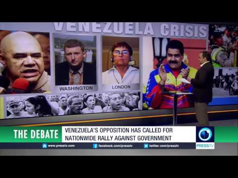 "Venezuela Crisis - Caleb Maupin on PressTV's ""The Debate"""