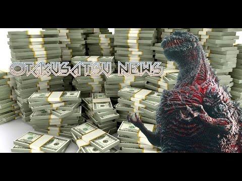Shin Godzilla has made $1 MILLION!?! in 3 days!?!?