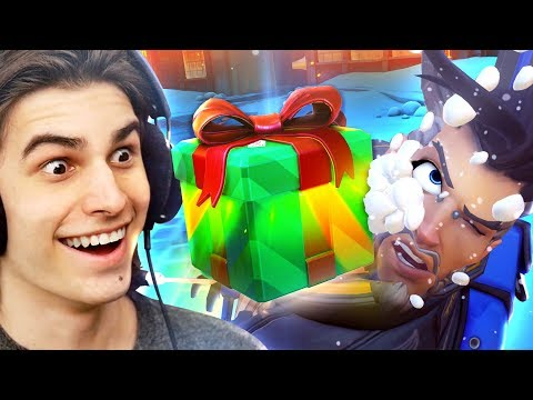 Unboxing 101 WINTER WONDERLAND LOOTBOXES?! [Overwatch]
