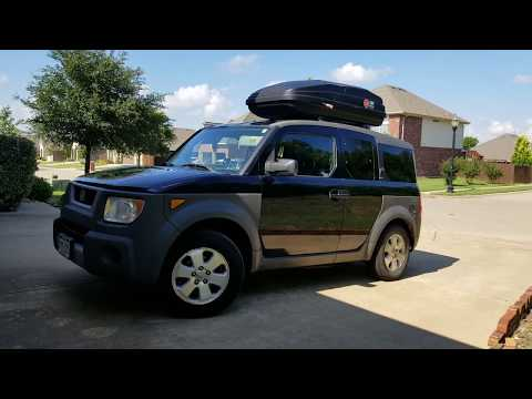 2003 Honda Element Camper Van Vanlife Youtube