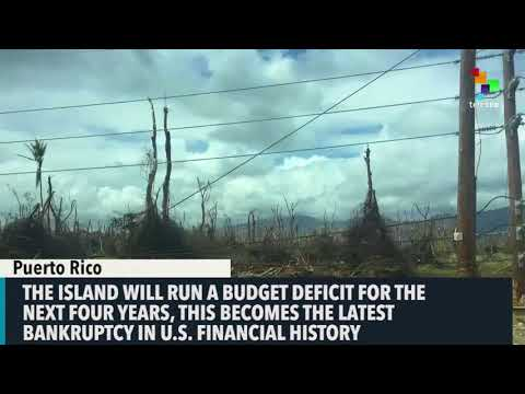 In Bleak Forecast, Puerto Rico Sees No Debt Payment Until 2022