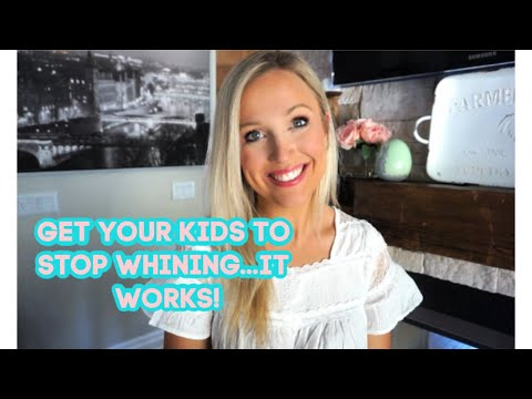 How To Get Your Toddler To Stop Whining. Gentle Parenting Tips! IT WORKS! No More Whining.