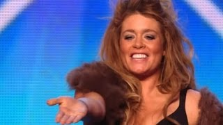 Britain's Got Talent S08E02 Lettice Rowbotham Stunning Rock Violin Performance