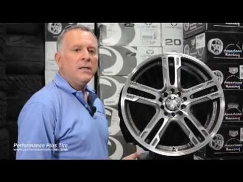 Katana KR10 Gunmetal Machine -- Performance Plus Wheel & Tire Review