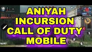 missão em solo ANIYAH INCURSION CALL OF DUTY MOBILE
