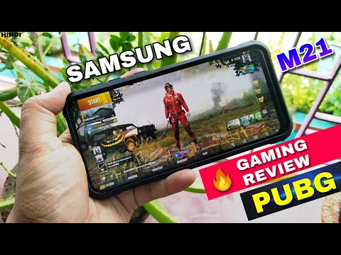 samsung-m21-pubg-mobile-gaming-test-and-battery-draining-test-4-64gb-#wattamonster-[-hindi-]