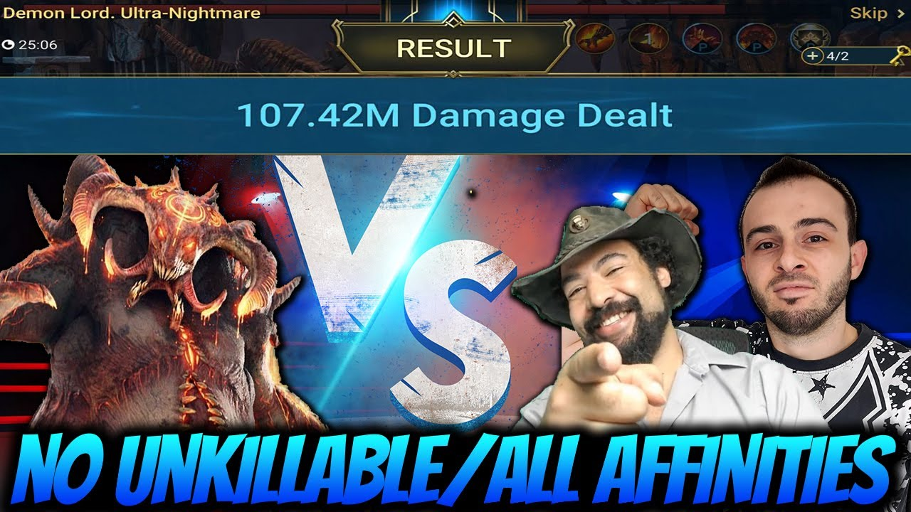 Download NEW BEST CLAN BOSS TEAM FOR ALL AFFINITIES | ME & DEADWOODJEDI VS THE CLAN BOSS RAID SHADOW LEGENDS