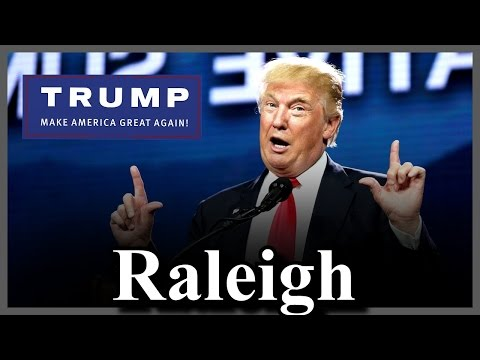 Donald Trump Rally in Raleigh, North Carolina [ MUST WATCH ]