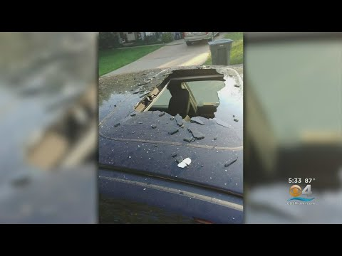 Cindy Scull Mornings - Aerosol Can of dry shampoo EXPLODES inside HOT CAR