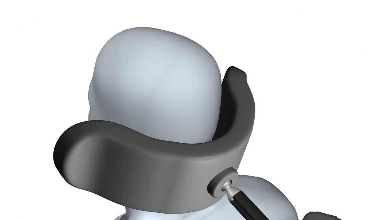 Whitmyer Adjust-A-PLUSH Headrest with PRO Hardware Adj Animation