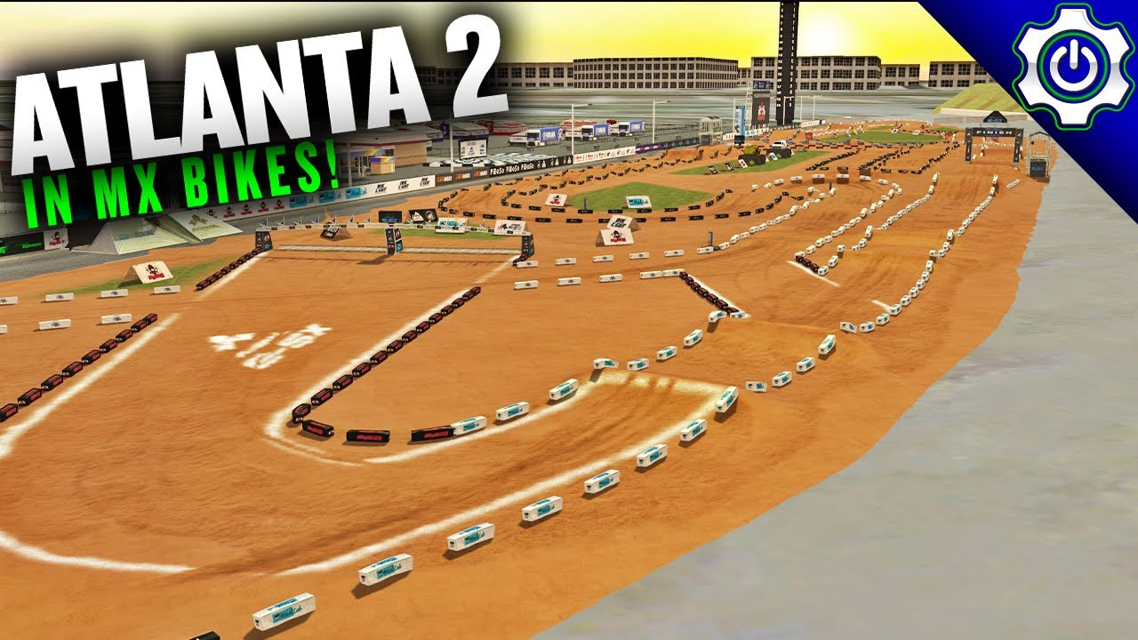 2021 Atlanta 2 Supercross in MX Bikes - Track Walk Ep. 9
