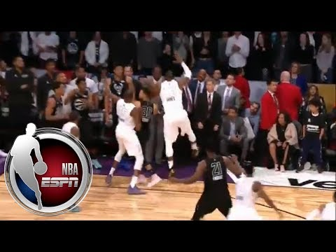 Stephen Curry can't get shot off thanks to tenacious, game-winning defense by Team LeBron | ESPN