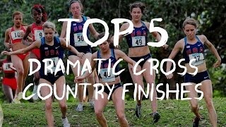 TOP 5// DRAMATIC CROSS COUNTRY FINISHES// IN THE USA