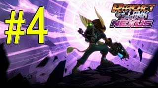 Ratchet & Clank Into the Nexus Walkthrough - Part 4 Planet Silox #1 Gameplay PS3 HD