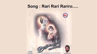 Rari rari rariro - Unnikkannanu Tharattu