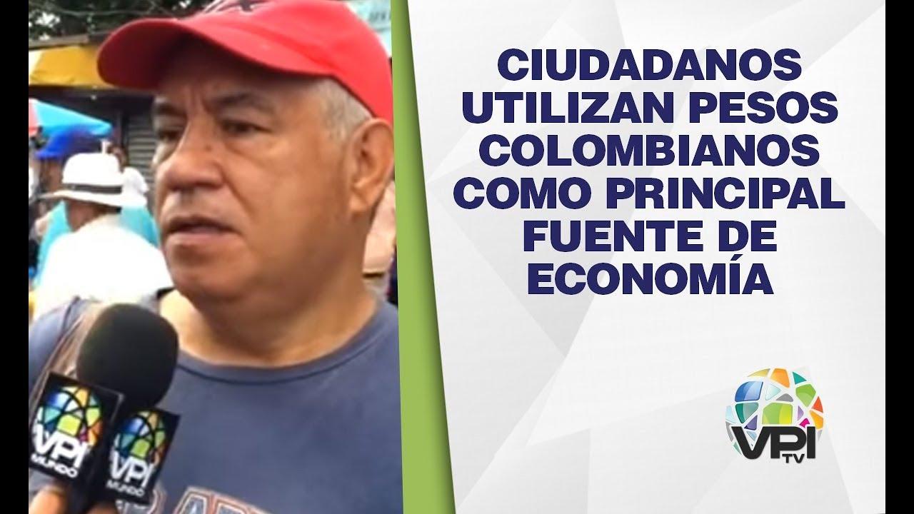 Táchira - Ciudadanos utilizan pesos colombianos como principal fuente de economía - VPItv