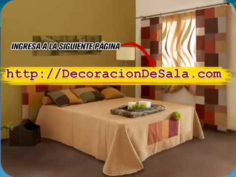 Fotos de salas y recamaras decoraci n de salas youtube for Decoracion de recamaras modernas