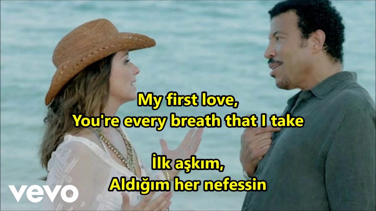 Download Lionel Richie & Shania Twain - Endless Love İngilizce-Türkçe Altyazı (English-Turkish Subtitle)