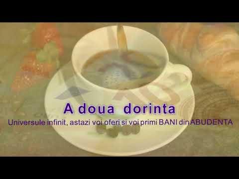 Ritualul Cafelei - implinirea zilnica a trei dorinte
