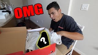 SURPRISING FRIEND WITH DREAM SNEAKER!! (FREAKOUT)