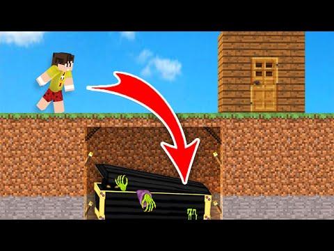 KÖTÜLERİN GİZLİ TUZAĞINA DÜŞTÜM! ÖLMEDEN MEZARA GİRDİM! - CrazyCraft #17 - Minecraft