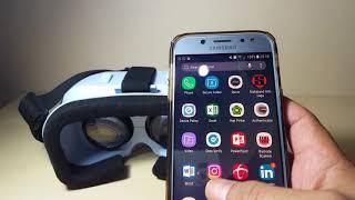 Cara menonton Video 3D gratis di youtube menggunakan VR Glasses