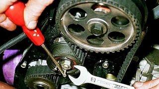 Замена ГРМ на 8 кл  двигателе Ваз 2108,2109,2110,2111,2113,2114,2115