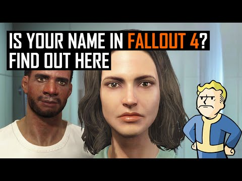 Is your name in Fallout 4? Find out here.