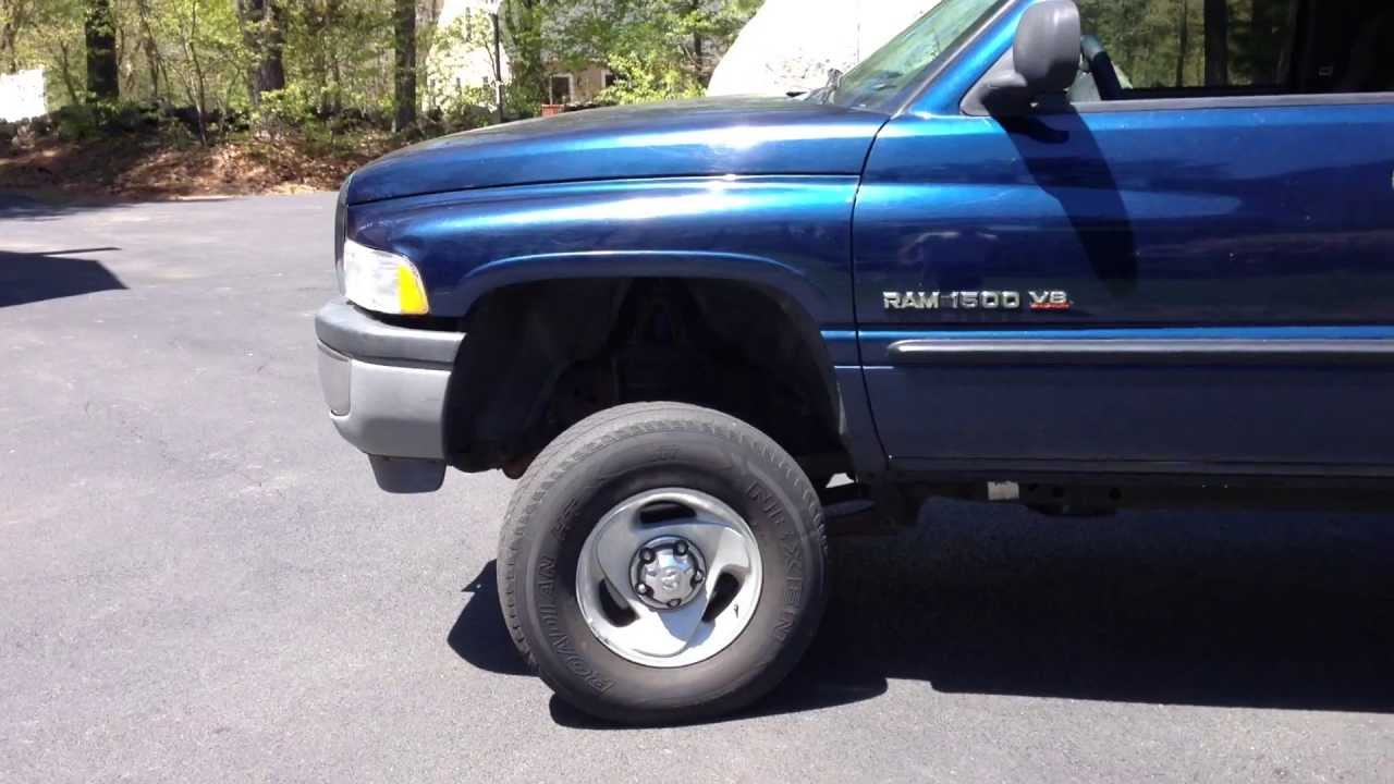 1998 dodge dakota lift kit
