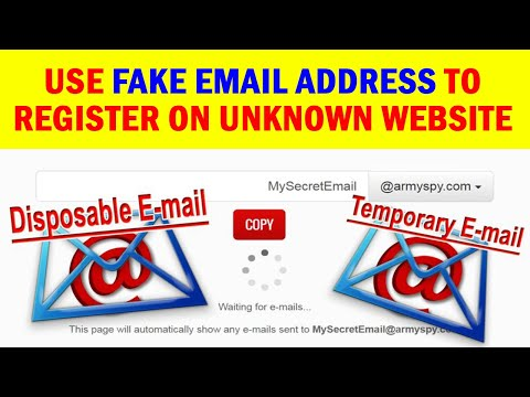 Fake Temporary Email Service: How To Register With Disposable Mail Address On Any Website Or App