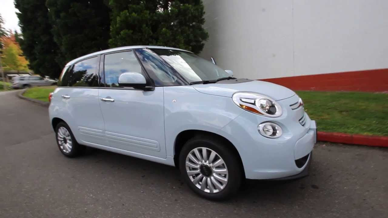 Ez009366 2014 Fiat 500l Easy Rairdon S Fiat Of