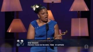 Mo'Nique winning Best Supporting Actress thumbnail